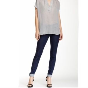 Vince Riley Denim Legging Dark Wash
